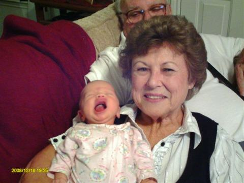 Kaylin and Greatgrandma