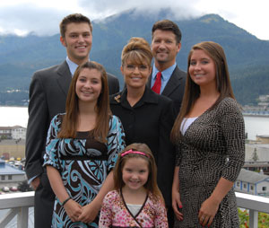 Palin Family Photo